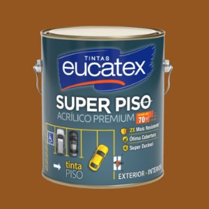 Tinta Acrílica Piso Castor 3.6LT Eucatex