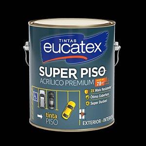 Tinta Acrílica Piso Preto 3.6LT Eucatex
