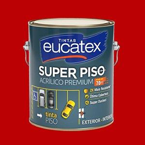 Tinta Acrílica Piso Vermelho 3.6LT Eucatex