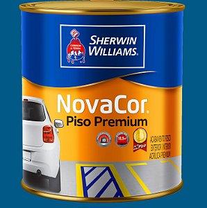 Novacor Piso Premium Azul 0.9LT