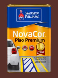 Novacor Piso Premium Marrom 18LT