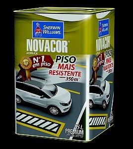 Novacor Piso Premium Preto 18LT