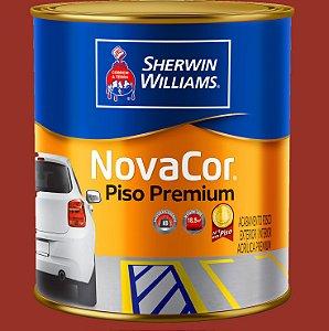 Novacor Piso Premium Vermelho 0.9LT