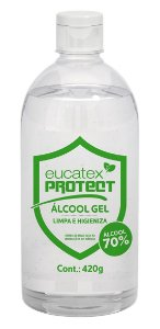 Eucatex Protect Álcool Gel Antisséptico 500ML - 3290000.80