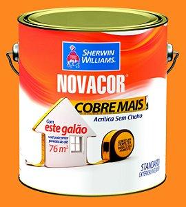 Tinta Acrílica Amarelo Sol Cobre Mais 3.6LT Novacor - 38592601