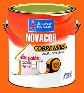 Tinta Acrílica Tangerina Cobre Mais 3.6LT Novacor - 38591401