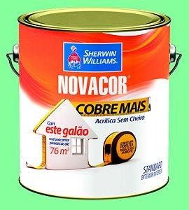Tinta Acrílica Verde Campestre Cobre Mais 3.6LT Novacor - 38593801