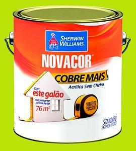Tinta Acrílica Verde Limão Cobre Mais 3.6LT Novacor