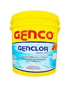 Genclor Cloro Granulado Estabilizado 10 KG GENCO