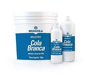 Brasfort Cola Branca 500GR - 3110002