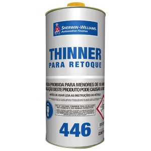 Thinner para retoque 446 0.9 L Lazzuril