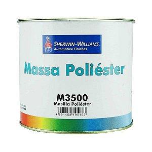 Massa Poliéster M3500 750g Lazzuril