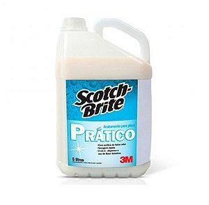 Acabamento Prático Scotch-Brite™ para Limpeza Profissional - 5 Litros