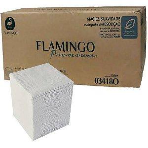 Papel Higiênico Interfolha Caixa C/ 8000 Fls  Flamingo