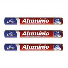 Papel Alumínio 30x7,5cm Life Clean