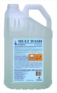 Detergente Alcalino para Máquinas Mult Wash - 5 litros