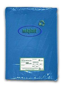 Saco de Lixo 40 Litros com 100 unidades - Nekplast