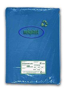 Saco de Lixo 60 Litros com 100 unidades - Nekplast