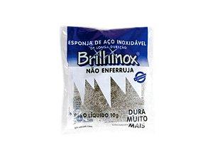 Esponja de Aço Inoxidável 10g - Brilhinox