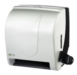 Dispenser Toalha Bobina Alavanca Black&White - Fortcom