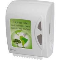 Dispenser Toalha Bobina Auto Corte Branco Linha Infinity - Fortcom