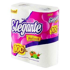 Papel Toalha para Cozinha com 100 folhas - Sulleg  - Linha Elegante - 2 rolos com 50 cada
