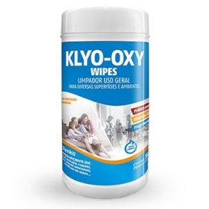 Limpador Klyo-Oxy Floral 50 lenços