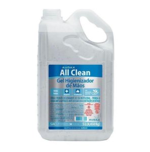 Álcool gel 70 Audax All Clean - 5L