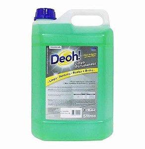 Limpador Concentrado para Porcelanato - Deoline 5L