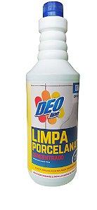 Limpa Porcelanato 1 litro Pós Obra - Deoline