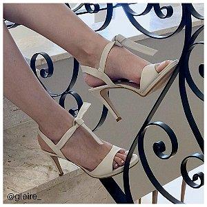 Sandália couro Off White