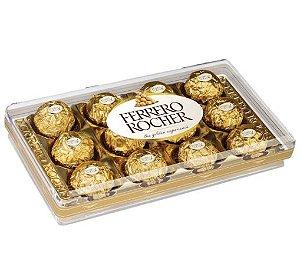 Caixa de Ferrero Rocher com 12 unidades