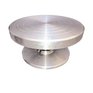 Torno manual para modelagem de cerâmica (14 x 25)