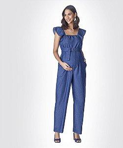 Macacão Jeans Comfort