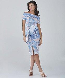 Vestido Midi Faixa
