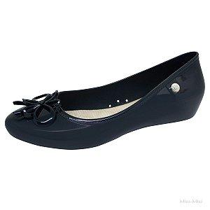 Sapatilha Sapato Feminina Vies Laço Strass Miss Miss