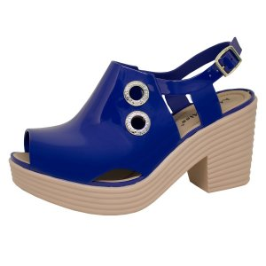 Sandália Feminina Sandal Boot Solado Alto Miss Miss