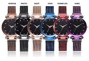 Kit 6 Relógios Diamante da noite estrelada