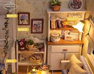 Miniatura: Quebra Cabeça 3D Realista - Sala de Estar (DIY)