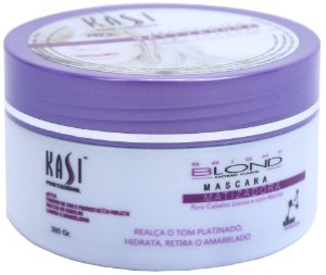 Máscara Matizadora Brigth Blond Home Care 300g