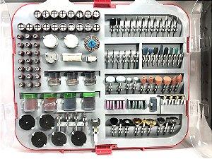 Jogo Pontas Micro-retifica 250pçs Lee Tools