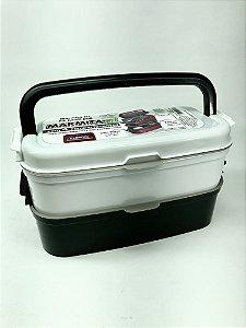 Marmita fit c/ 4 compartimentos Plasutil - A8077