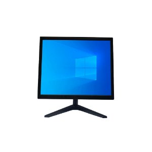 """Monitor Prizi Slim 17"""" LED PZ0017HDMI Bivolt Preto"""