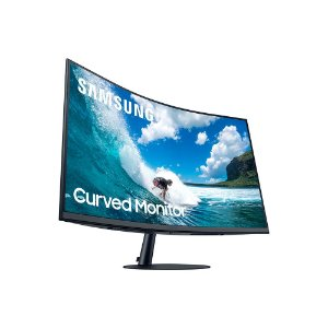 "Monitor Curvo Samsung 32"" FHD, HDMI, Display Port, VGA, 75hz, Freesync, LC32T550FDLXZD"