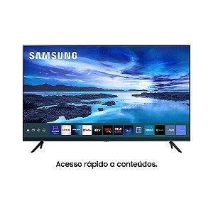 """Samsung Smart TV 65"""" UHD 4K, Processador Crystal 4K, Tela Sem Limites, Visual Livre De Cabos, Alexa Built In, Controle, Bivolt"""