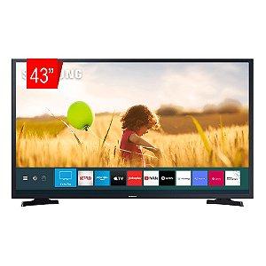 "Smart TV Samsung LED 43"" Full HD T5300 Com HDR, Sistema Operacional Tizen, Wi-Fi, Espelhamento De Tela, Dolby Digital Plus, HDMI E USB"