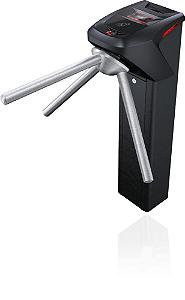 Catraca iD Block Preta Proximidade 13,56 MHz + Biometria Adicional Modulo Urna coletora