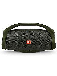 Caixa Bluetooth JBL Boombox 60w Preta, P2, Estéreo, Bateria Recarregável de 20.000 mAh, Resistente à água, Autonomia para 24h, Conecte Mais de 100...