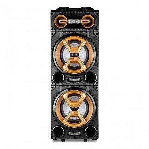 """Caixa de Som Amplificada Multilaser SP360 1600W, Bluetooth®, 2 Alto-Falantes de 10"""", 2 Tweeters de 3""""."""