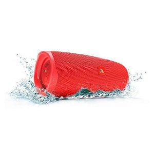 Caixa Bluetooth JBL CHARGE 4, Á Prova D'Água, Bluetooth, Autonomia para 20hs, JBL Connect+